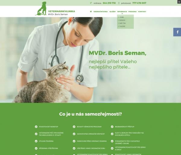 MVDr. Boris Seman